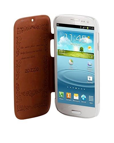 Beja Carcasa Flip Cover Blanca Para Samsung Galaxy S3