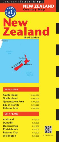 New Zealand Travel Map Third Edition (Australia Regional Maps)