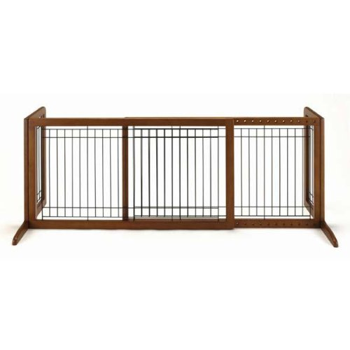 New - Freestanding Pet Gate Large Autumn Matte 39.8 by Richell