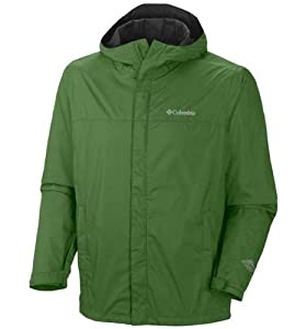 Columbia Men's Watertight II Packable Rain Jacket, Dark Back Country, X-Large