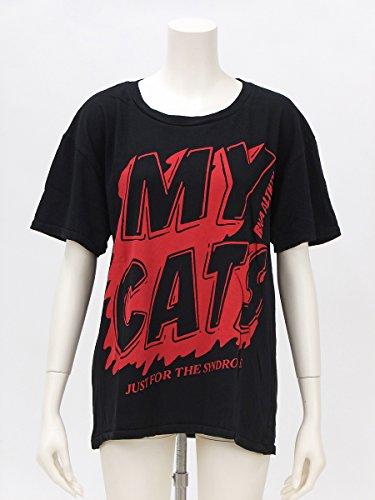 剛力彩芽ちゃん 衣装 黒のロゴTシャツ