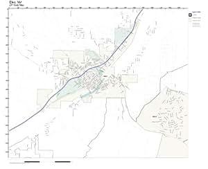 Amazon.com: ZIP Code Wall Map of Elko, NV ZIP Code Map Not ...