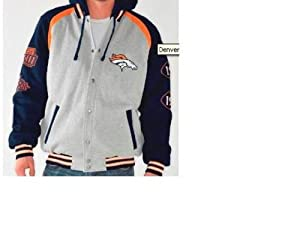 Denver Broncos Detachable Button Down Jacket by G-III Sports