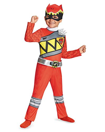 Disguise Red Ranger Dino Charge Toddler Classic Costume