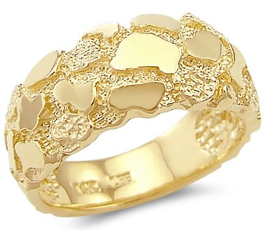 Gold Nugget Ring Amazon