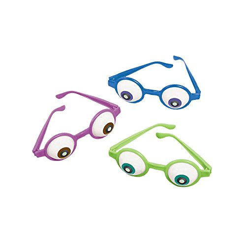 Monsters University Inc. Eyeball Glasses (6ct)
