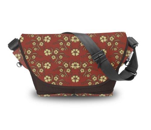 Atrangee Passionate Petal Messenger Bag (Brown) (violet)