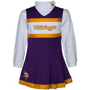 Minnesota Vikings Girls (4-6x) Cheer Uniform by Reebok