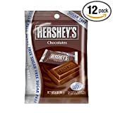 Hershey's Chocolate Bars, Sugar Free, 3-Ounce Bags (Pack of 12)