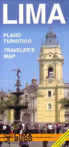 Lima, Peru Tourist Map (English and Spanish Edition)