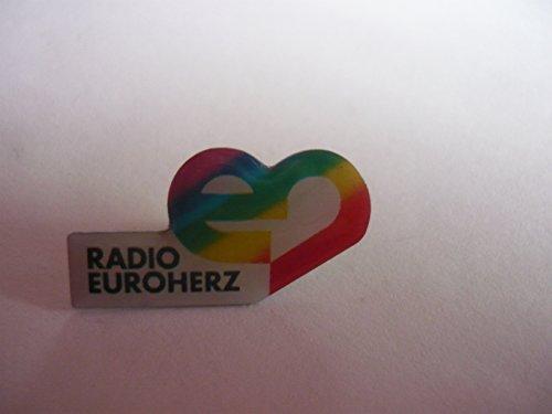 PIN ANSTECKNADEL - Original Radio - und Fernsehsender Radio Euroherz