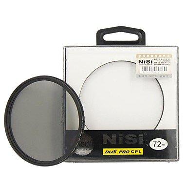 Peach Nisi 72Mm Pro Cpl Ultra Thin Circular Polarizer Lens Filter