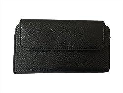 AryaMobi Hard Leather Belt Pouch for Nokia 225