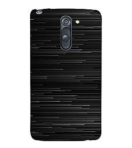 PrintVisa Lines Pattern 3D Hard Polycarbonate Designer Back Case Cover for LG G3 STYLUS