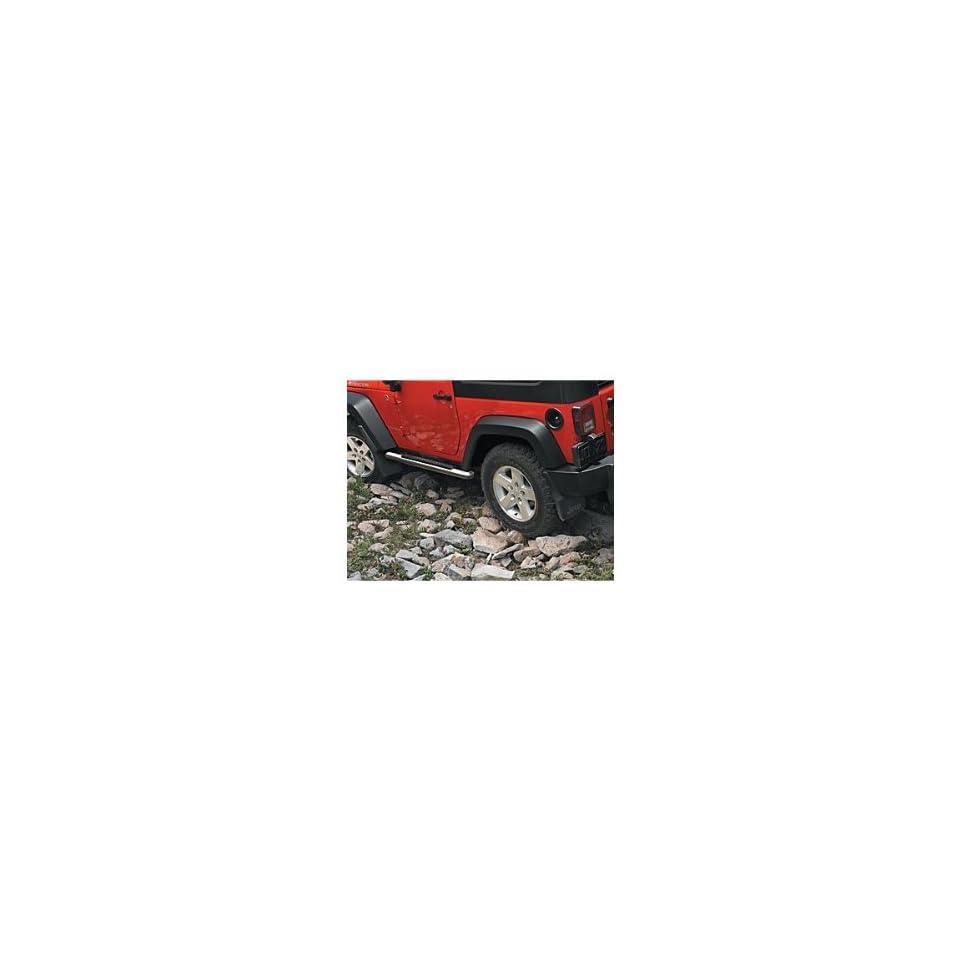 Jeep Wrangler 4 Door Chrome Tubular Side Steps