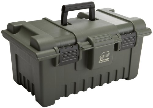 Plano Green Camo Shooters Case - Large