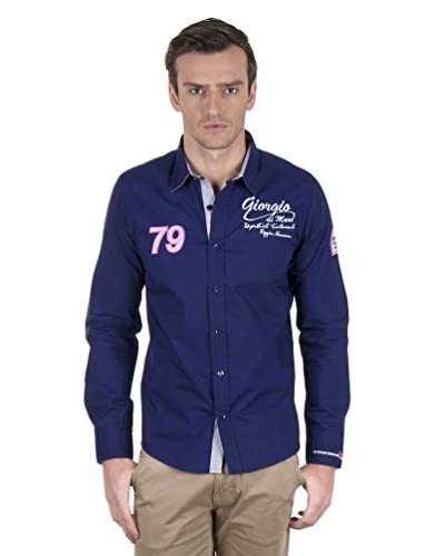 Giorgio di Mare Camicia Uomo [Blu Navy]
