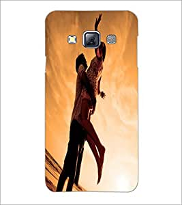 PrintDhaba Couple D-2241 Back Case Cover for SAMSUNG GALAXY A3 (Multi-Coloured)