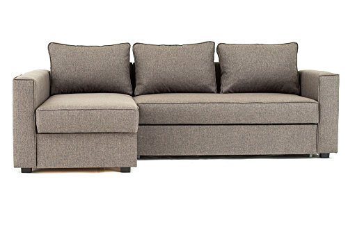 Best Offer Boston Corner Sofa Bed with Storage in Brown - Top Sofas ...