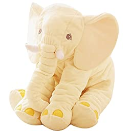 Outgeek Nursing Pillow Total Body Pillows Stuffed Animal Elephant Soft Cushion for Baby
