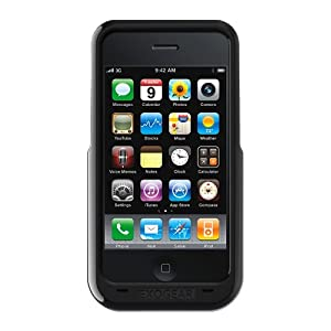 Exogear Rechargeable Battery Case for iPhone 3G and 3GS (Black)