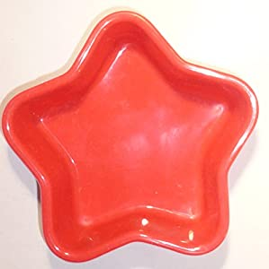 Silicone Baking Molds Cake Pans Christmas Star & Tree, Set of 4