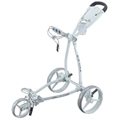 Big Max Golf Blade Fete Blanche Trolley, White by Big Max Golf