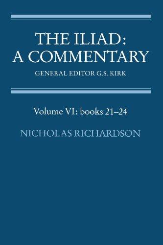 The Iliad: A Commentary (Volume VI: books 21-24)