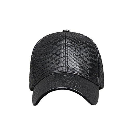 gli-uomini-e-le-donne-rivestono-di-pelle-pu-cappellino-velcro-fibbia-di-regolazione-esterna-del-capp