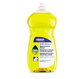 PGC45113 - Manual Pot amp; Pan Dish Detergent, Lemon Scent, Liquid, 38 Oz. Bottle