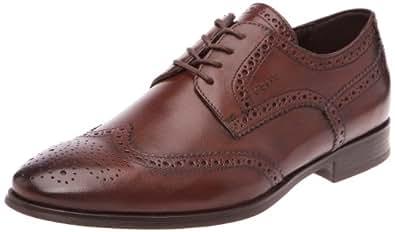 Geox Uomo Albert B, Chaussures basses homme - Marron (C6009), 44 EU