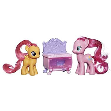 My Little Pony – Cutie Mark Magic – Pinkie Pie & Scootaloo – 2 Figurines + Accessoire