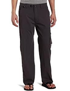 prAna Men's Stretch Zion Pant 32-Inch Inseam, Charcoal, Medium