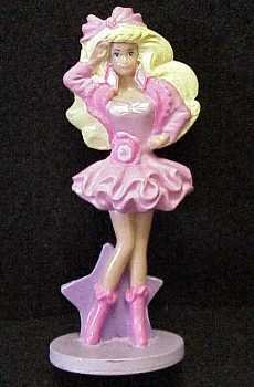 McDonalds - LIGHTS AND LACE Barbie ( Barbie ) # 3 , 1990 Doll doll figure ( parallel imports ) - 1