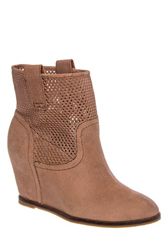Keno Hidden Wedge Bootie