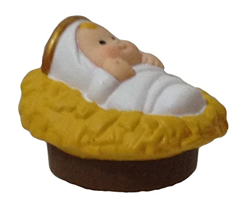 Fisher Price Little People Nativity Scene - Replacement Baby Jesus - 1