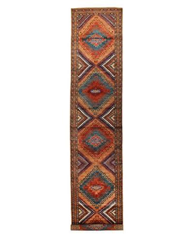 Bashian Rugs Hand-Knotted Pakistani Tribal Rug, Rust, 3' x 15' 4 Runner