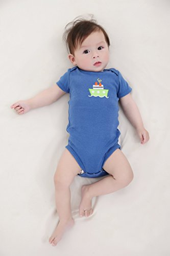 Mother Nest Baby Bodysuit Onesies Clothes Boys 5 Pack(BBT052-3M)