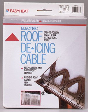 Easy Heat Adks-500 100-Foot Roof De-Icing Cable