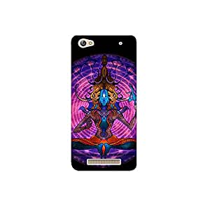 micromaxCanvas A316 nkt11_R (14) Mobile Case by Mott2 - Lord Shiva in Meditation