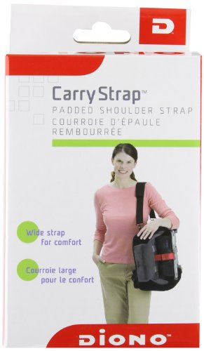 """Diono Radian 2"""" Carry Strap, Black front-603657"""