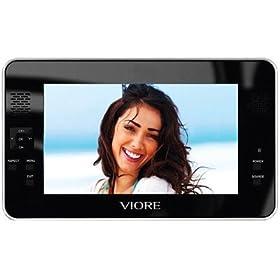 """Viore PLC7V96 - 7"""" LCD TV - portable"""