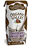 Organic Valley 1% Chocolate Lowfat Milk, 6.75 Ounce (Pack of 24)