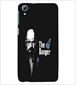 HTC DESIRE 826 THE DANGER Designer Back Cover Case By PRINTSWAG