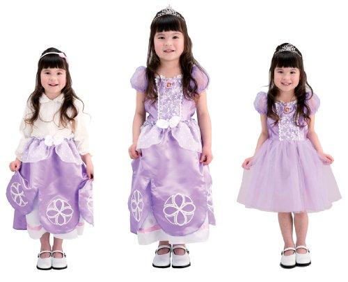 ディズニー ちいさなプリンセスソフィア かわいい3WAYドレス 100cm-110cm