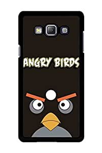 Caseque Angry Bird Bomb Back Shell Case Cover for Samsung Galaxy A7