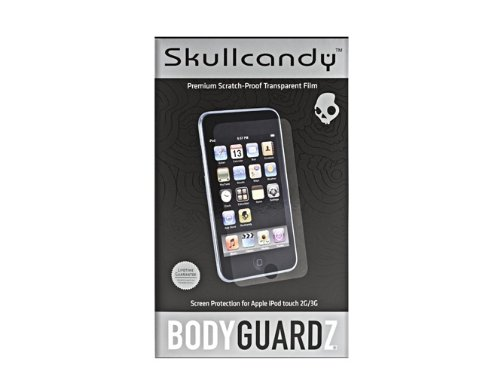 Skullcandy Sctgbz-02 Bodyguardz Lcd Screen Protector For Ipod Touch (Clear)