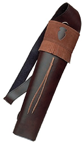 Neet Archery Traditions Back Quiver Color Brown