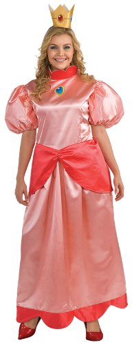 Super Mario Bros. - Princess Peach Adult Plus Costume