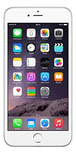 Apple iPhone 6 Plus, Silver, 64 GB
